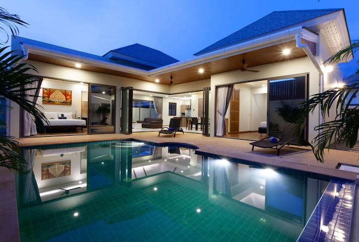 New Boutique Pool Villa இ Close to Rawai & Naiharn