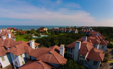 Inviting Ocean View Villa with Easy Beach and Pool Access  Deans