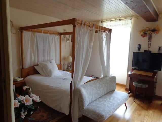 Chambre maison dans la campagne Cognaçaise - Segonzac - Bed & Breakfast