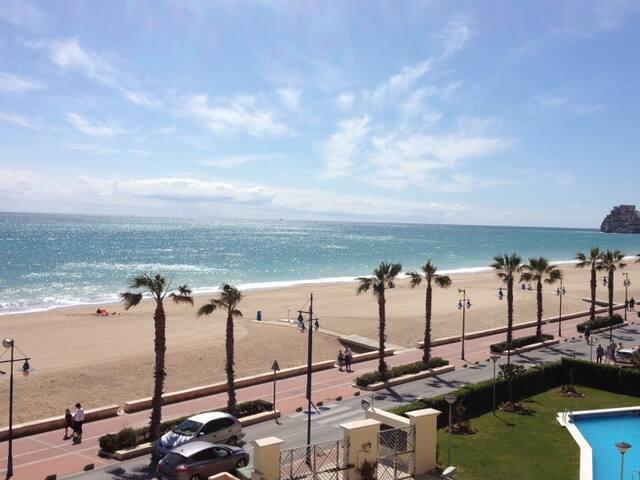 Peñiscola Apartamento primera linea vistas al mar