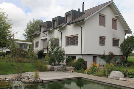 Apartment in Sins, ruhige Lage - Sins - Apartment