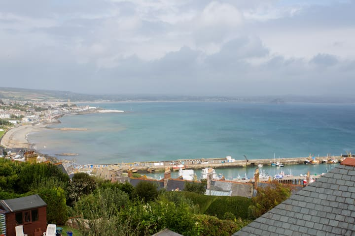 Sea views in comfortable accommodation