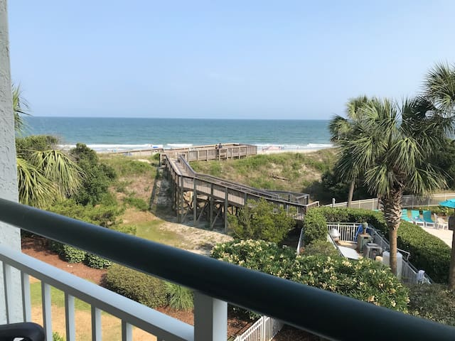 Pawleys Island Litchfield Beach Oceanfront Condo
