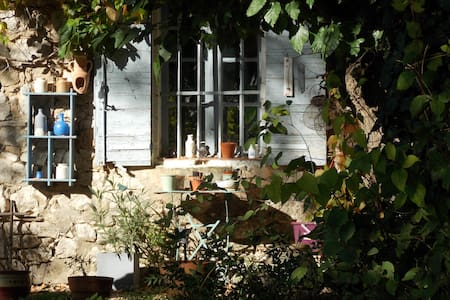 Traditional stone house in Provence - Rousset - House