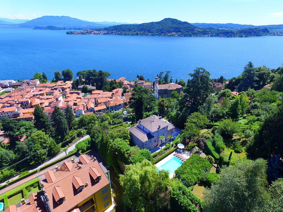 Villa Belvedere Meina, a lovely villa with views over Lake Maggiore!