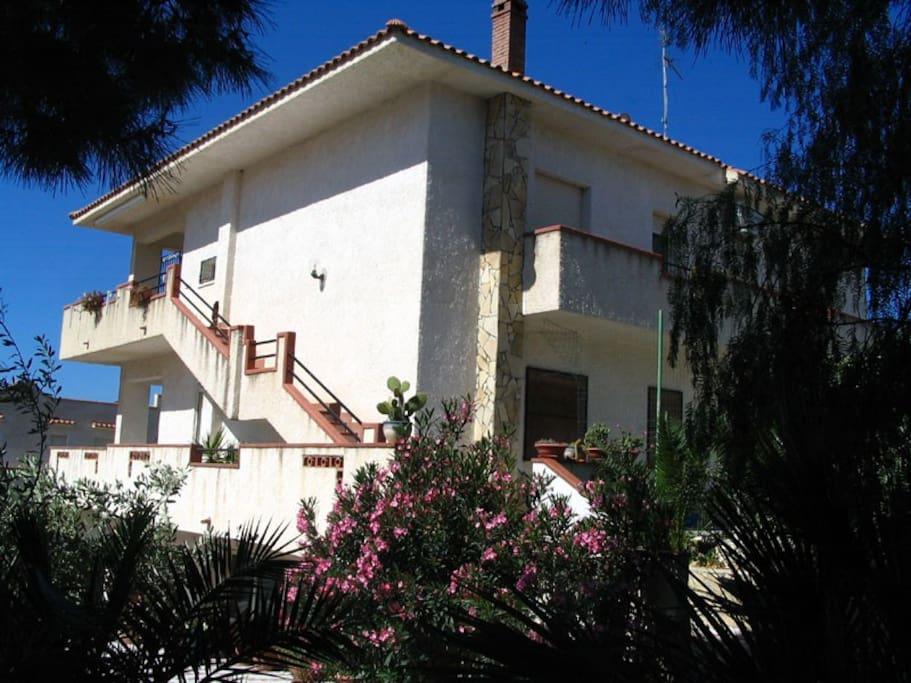 Villa Bianca al mare