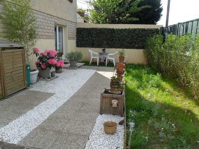 Appartment with garden, near Paris - Morsang-sur-Orge - House