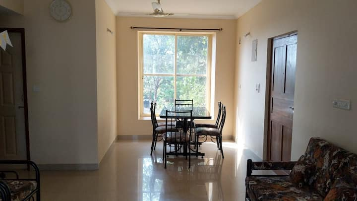 A001 1bhk apartment with terrace,kitchen,wifi