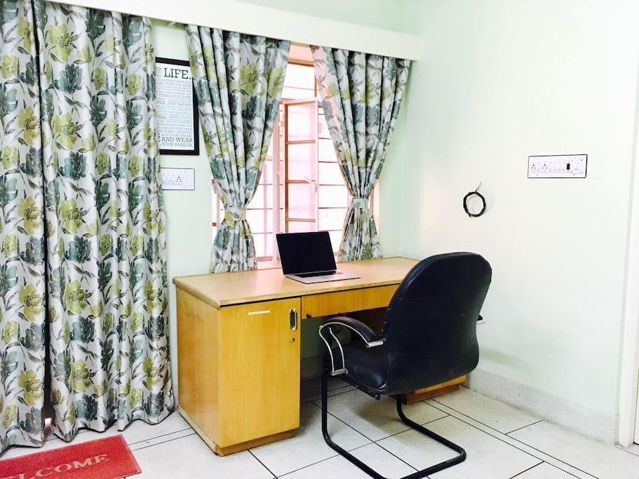 Big office desk