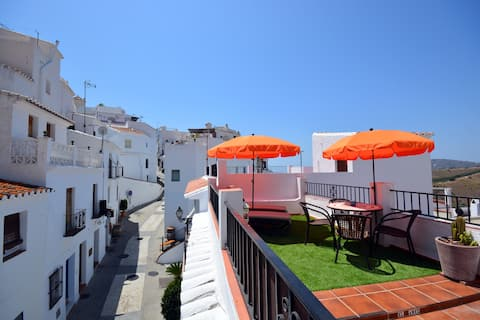 Frigiliana Old Quarter, Townhouse & Roof Terrace