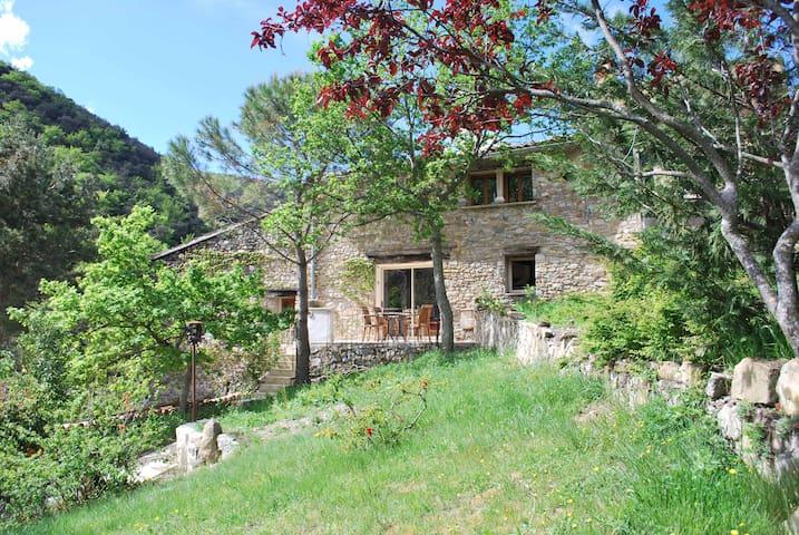 gîte  Drôme Provence piscine nature - Rousset-les-Vignes - Flat