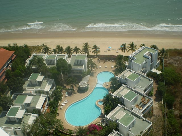 Crystal Beach Apartment Rayong - Klaeng - Apartament