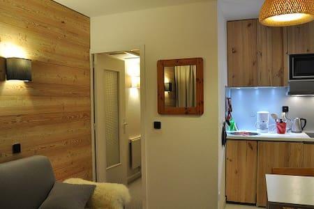 Charmant studio rénové  - Peisey-Nancroix - Lägenhet