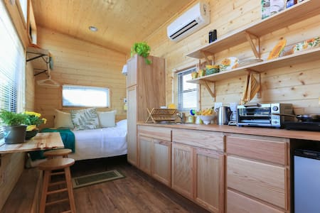 Acorn Acre Organic Tiny House at edge of Asheville - Asheville - Guesthouse
