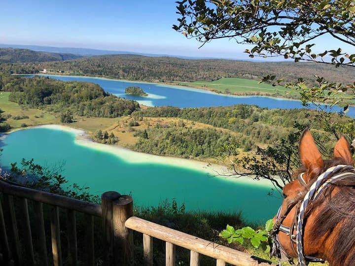 Bungalow LE FRASNOIS Lacs et Cascades