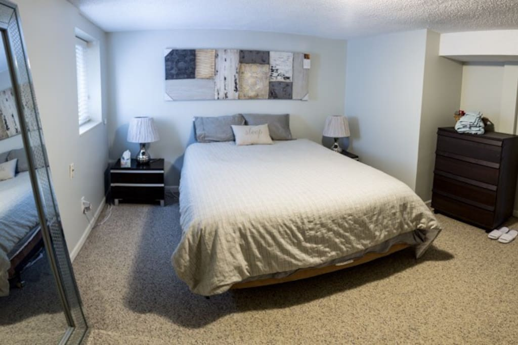 Most comfortable beds I have ever experienced ... Master bedroom