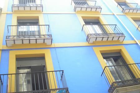 Habitación en casa Azul y Amarilla - Alcoi