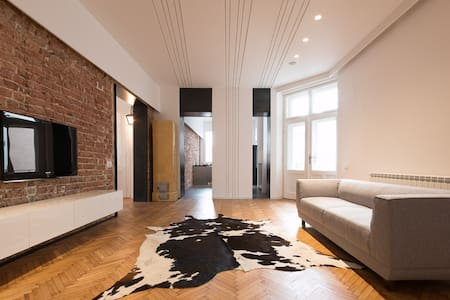 Design flat in Belgrade downtown Dorcol (130m2) - Beograd - 公寓