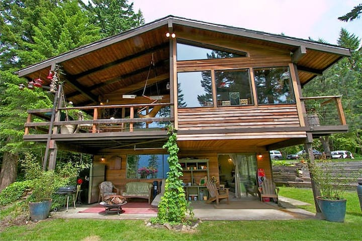 Huge View home in Columbia Gorge - Stevenson - Rumah