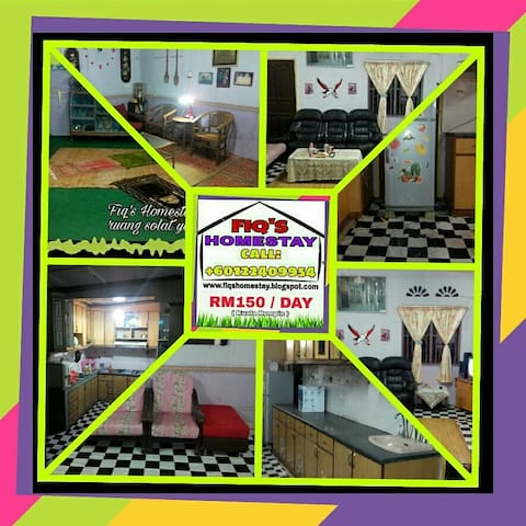 Homestay Kuala Rompin Barjet - Kuala Rompin - Dům