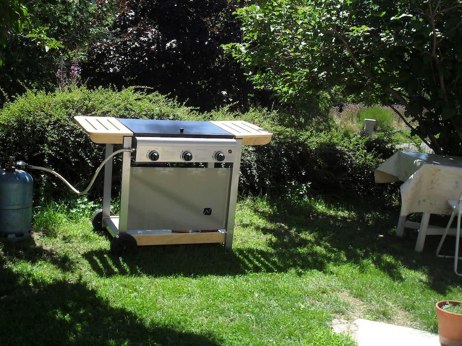 barbecue + transats