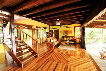 Casa Rio Sierpe----New Rain forest & Waterfront Hm - Osa Peninsula - House