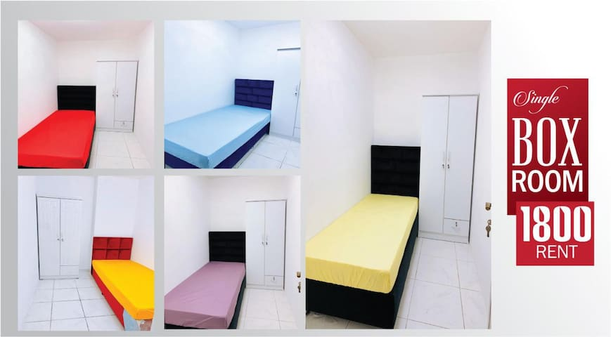 Box Room and Bed space for Ladies