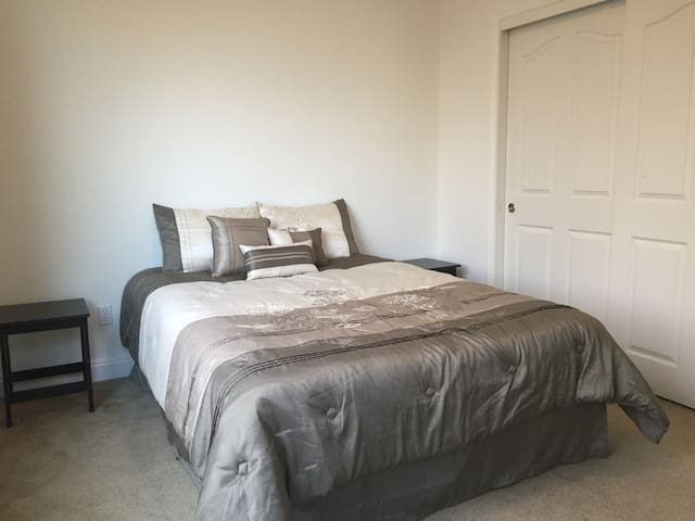 Large Downstairs Guest Room with Queen Bed