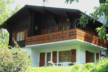 Nice appartement with 2 bedrooms nearby Fiesch - Ernen - Huoneisto