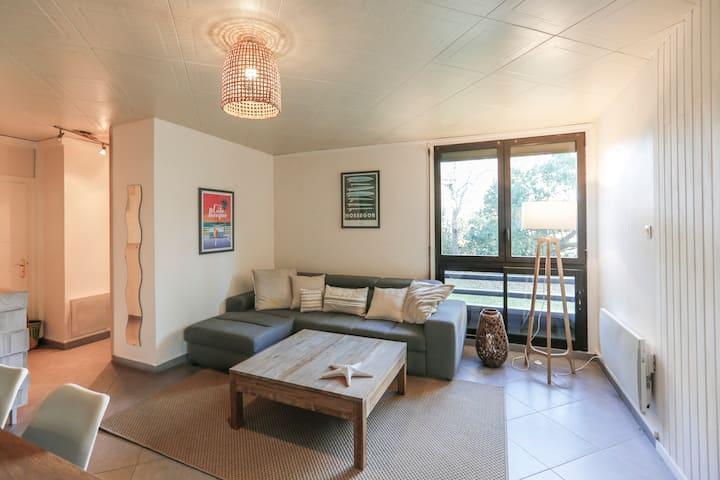 Bel appartement pour 4, plage à 250 mètres !
