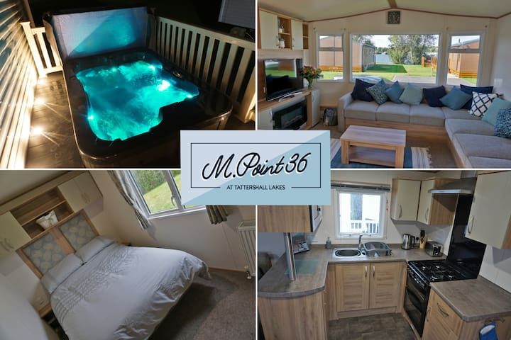 8 Berth.Hot Tub.Lake Views  M.Point36@Tattershall