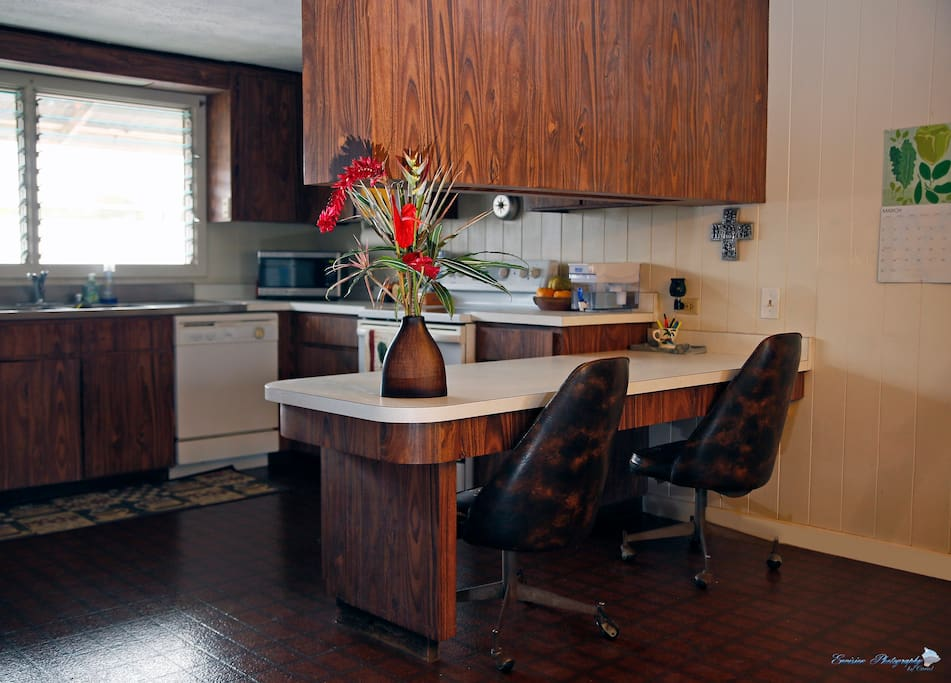 Make your own meals in the fully equipped Kitchen.