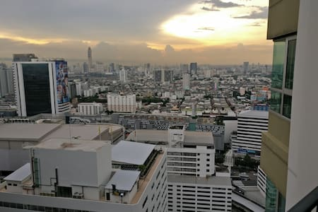 Nice private room with own bathroom close to MRT - Bangkok - Condomínio