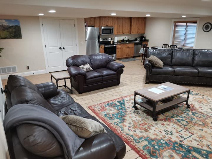 Spacious~Private-2 Bedroom Basement Apartment.