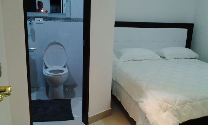 Bedroom 7 with queen - private bathroom and Ac
