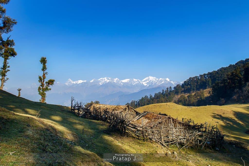 Dayara Bugyal - A high altitude meadow trek. PC Pratap J