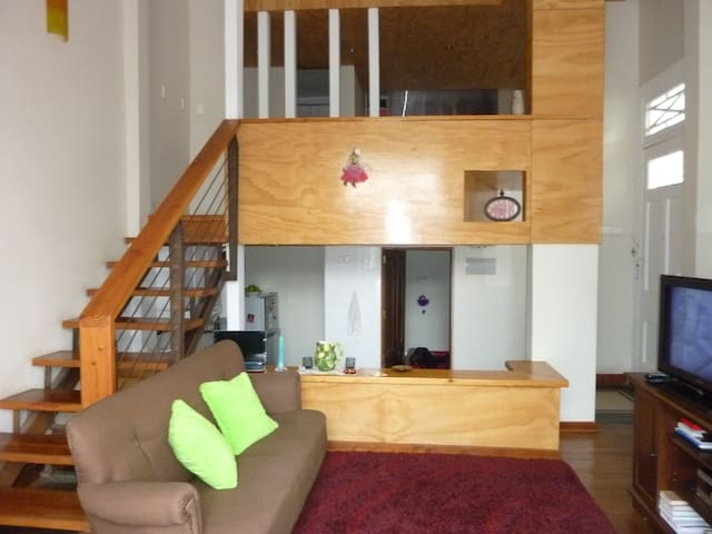 Loft appartment in Cerro Alegre - Valparaíso - Appartamento