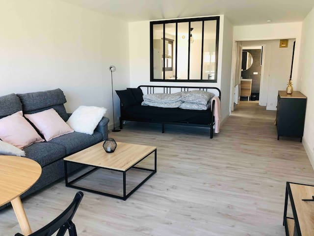 Grand studio 43m2 port de Perros Guirec
