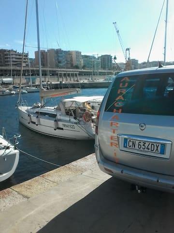 New sailboat in Aeolian Islands
