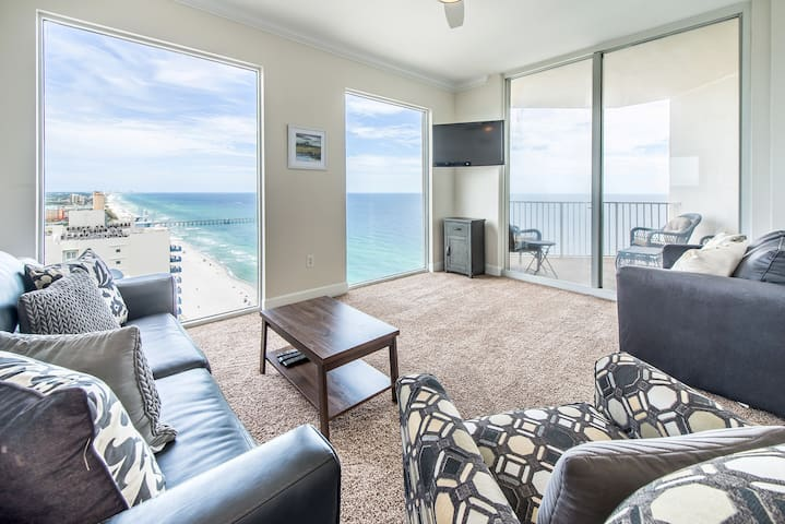 Tidewater II 2718- Floor to Ceiling Gulf Views! Apr 8 to 10 $471! Fun Pass!