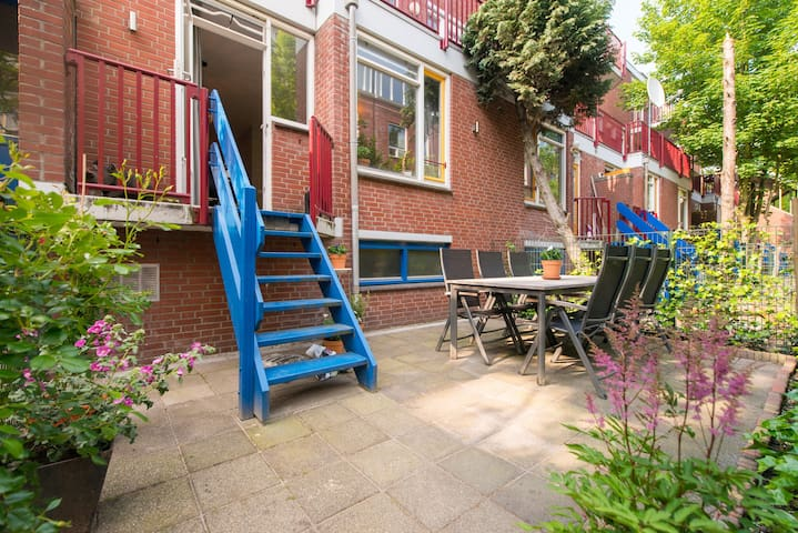 Renovated 1 bedroom with garden in 'Oost' - Amsterdam - Appartement en résidence