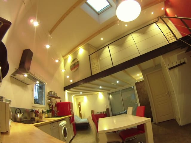 New Loft (South Gap 60 m2) - Gap - ลอฟท์