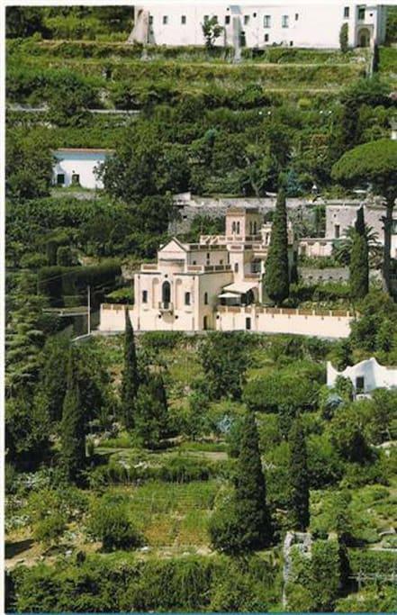 villa barluzzi dal alto