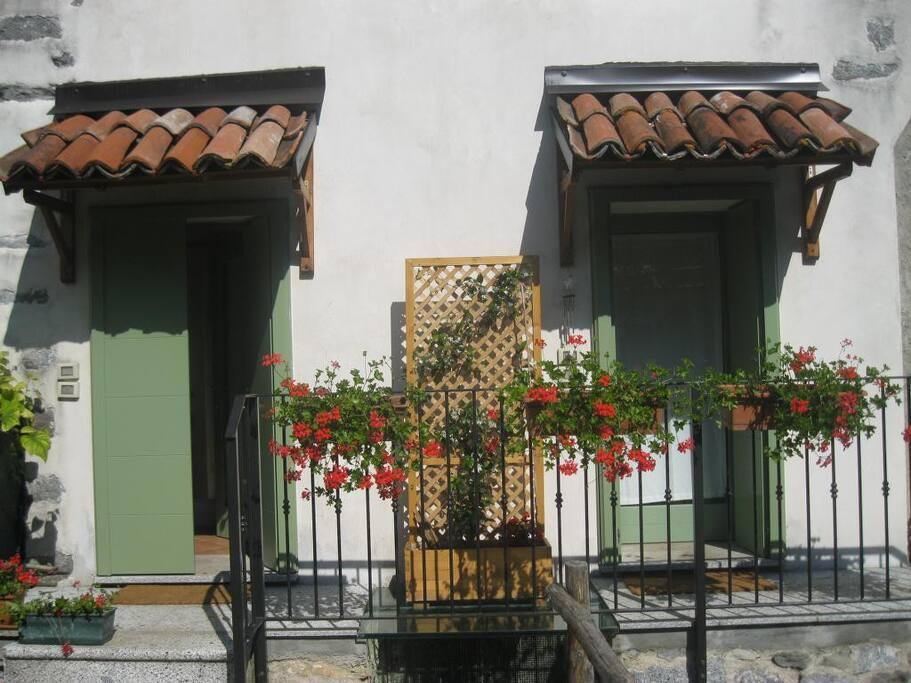 entrance of Villa Bianca and Villa Giulia