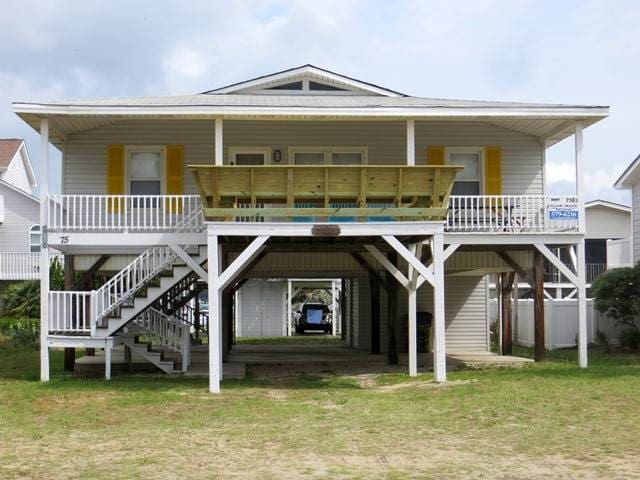 Family Cottage with Close Access to the Beach - Ocean Isle Beach - Casa