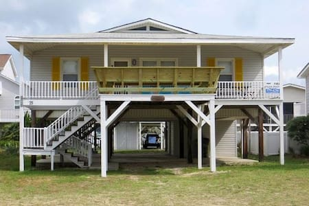 Family Cottage with Close Access to the Beach - Ocean Isle Beach - 独立屋