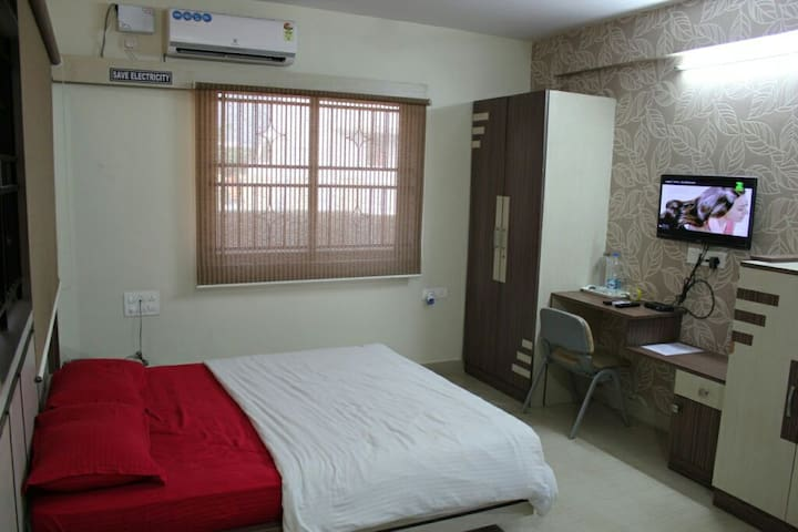 Studio AC Room in New BEL Road
