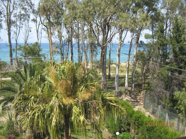 Sicily frontbeach villa opposite Eolie islands 1