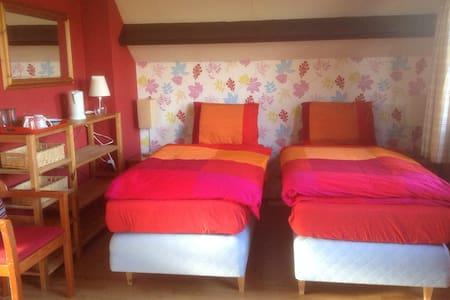 2 bedrooms, sleeps 3, Utrecht 12 km - Casa