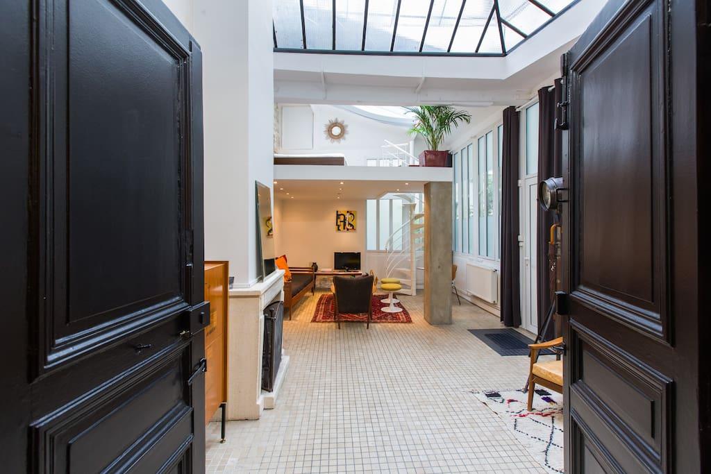 Atelier d 39 artiste marais lofts louer paris le de - Atelier du marais agencement ...